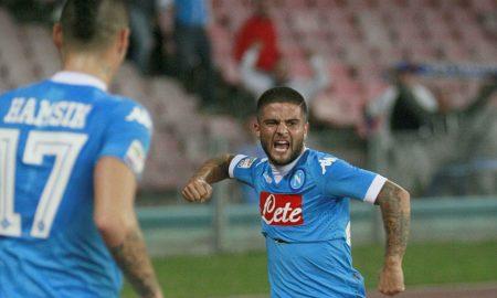 Napoli ( Stadio San Paolo ) 26 settembre 2015  Campionato di calcio serie A 2015/2016 :  Napoli Juventus  Nella forto : Esultanza Marek Hamsik e Lorenzo Insigne