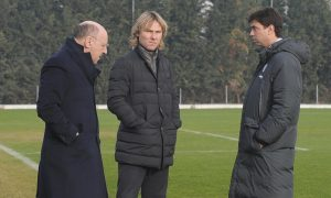 Foto : Alessandro Falzone/ Lapresse 09 01 2014 Vinovo (TO) Allenamento Juventus Stagione 2013- 2014 Juventus Center  Sport;Calcio; Nella foto : Beppe Marotta,Andrea Agnelli,Pavel Nedved  Photo : Alessandro Falzone / Lapresse 09 01 2014 Vinovo (TO) Training Juventus  Season 2013 2014 Juventus Center Sport;Soccer In the pic:  Beppe Marotta,Andrea Agnelli,Pavel Nedved