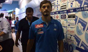 Manolo Gabbiadini esce scuro in volto
