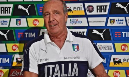 Italian national soccer team head coach Giampiero Ventura speaks during a press conference at Coverciano training center in Florence, Italy, 29 August 2016. ANSA/MAURIZIO DEGL INNOCENTI