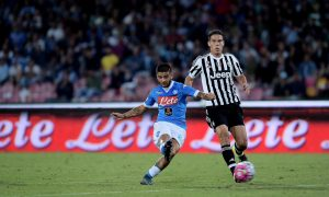 "Foto LaPresse - Gerardo Cafaro26/09/2015 Napoli (Italia)Sport CalcioSSC Napoli vs Juventus Football ClubCampionato di Calcio Serie A TIM 2015 2016 - Stadio ""San Paolo""Nella foto : Gol Insigne 1-0Photo LaPresse - Gerardo Cafaro26 September 2015 Naples (Italy)Sport SoccerSSC Napoli vs Juventus Football ClubItalian Football Championship League A TIM 2015 2016 - ""San Paolo"" Stadium In the pic: Gol Insigne 1-0"