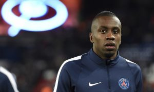 Paris Saint-Germain's French midfielder Blaise Matuidi looks on  before the Champions League round of 16 first leg football match between Paris Saint-Germain (PSG) and Chelsea FC on February 16, 2016, at the Parc des Princes stadium in Paris. AFP PHOTO / MIGUEL MEDINA