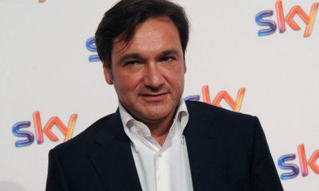 An Milano 10/09/2014 - photocall presentazione stagione televisiva 2014-2015 di Sky e Fox / foto Andrea Ninni/Image nella foto: Fabio Caressa