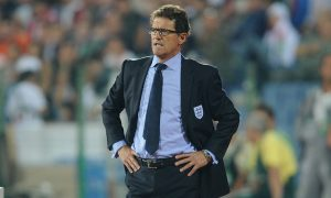 SOFIA, BULGARIA - SEPTEMBER 02:  England manager Fabio Capello looks on during the EURO 2012 group G qualifying match between Bulgaria and England at the Vasil Levski National Stadium on September 2, 2011 in Sofia, Bulgaria.  (Photo by Michael Regan/Getty Images)