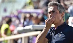 Fiorentina's coach Paulo Sousa looks on during the Italian serie A soccer match Ac Fiorentina vs Atalanta at Artemio Franchi Stadium in Florence, Italy, 16 October 2016. ANSA/MAURIZIO DEGL INNOCENTI