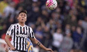 "Foto LaPresse - Fabio Ferrari 23/08/2015 Torino ( Italia) Sport Calcio Juventus Fc - Udinese Campionato di Calcio Serie A TIM 2015 2016 - Stadio ""Juventus Stadium"" Nella foto: Dybala Paulo Exequiel (Juventus) Photo LaPresse - Fabio Ferrari 23 August 2015 Turin ( Italy) Sport Soccer Juventus Fc - Udinese Italian Football Championship League A TIM 2015 2016 - ""Juventus Stadium"" Stadium In the pic:  Dybala Paulo Exequiel (Juventus)"
