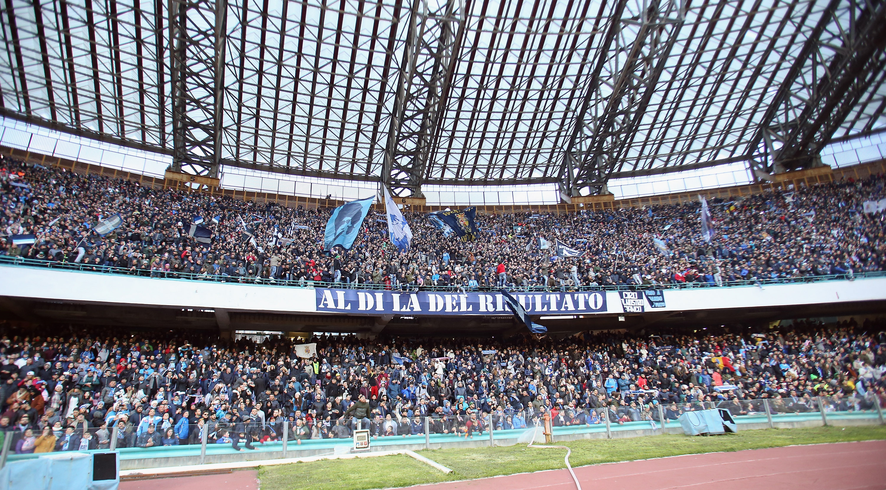 Champions league l 39 appello del napoli ai tifosi 100x100 for San paolo mutuo 100
