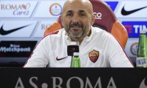 Foto Alfredo Falcone - LaPresse 16/01/2016 Roma ( Italia) Sport Calcio Conferenza stampa Luciano Spalletti Trigoria (Roma) Nella foto:Luciano Spalletti