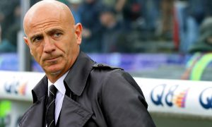 Italian coach of Siena, Giuseppe Sannino, looks on during the Italian Serie A soccer match Atalanta Bergamasca Calcio vs AC Siena at Atleti Azzurri d'Italia stadium in Bergamo, Italy, 07 April 2012 ANSA/PAOLO MAGNI