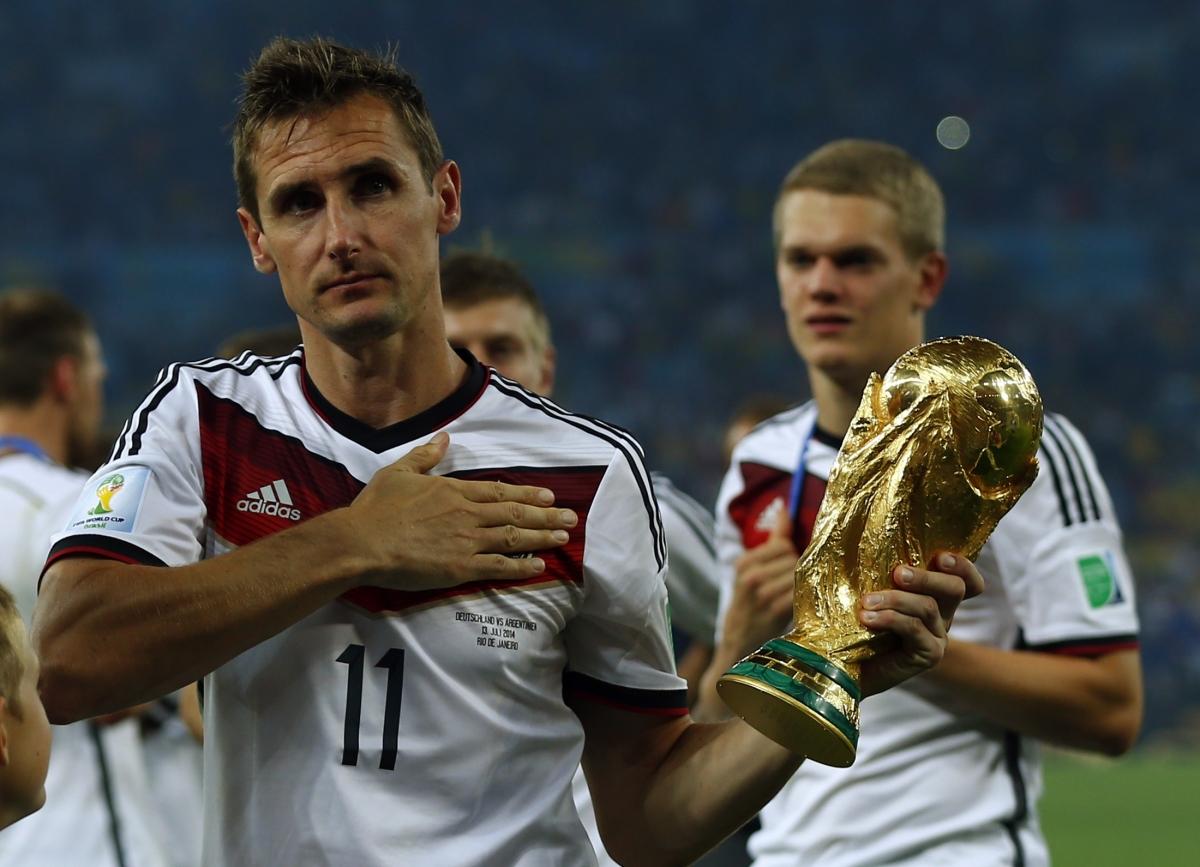 Klose, proposto al Napoli, lascia il calcio. Ma ha le idee ...