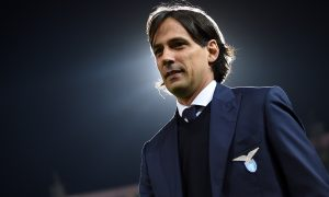 PALERMO, ITALY - APRIL 10:  Head coach Simone Inzaghi of Lazio looks on during the Serie A match between US Citta di Palermo and SS Lazio at Stadio Renzo Barbera on April 10, 2016 in Palermo, Italy.  (Photo by Tullio M. Puglia/Getty Images)