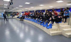 Corso di formazione contro il match-fixing sostenuto oggi dalla prima squadra del Napoli