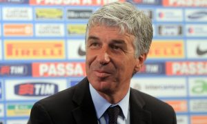 epa02810400 New Internazionale Milano coach Gian Piero Gasperini during press conference at the club's training centre Centro Sportivo Angelo Moratti, on the outskirts of Appiano Gentile, a village in the province of Como roughly 40km northwest of Milan, Italy, 5 July 2011.  EPA/MATTEO BAZZI
