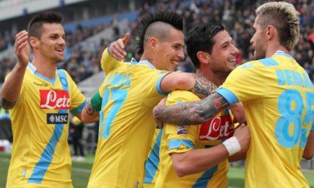 I marcatori di Napoli Sassuolo