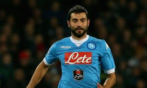 NAPLES, ITALY - DECEMBER 13:  Raul Albiol of Napoli  during the Serie A match betweeen SSC Napoli and AS Roma at Stadio San Paolo on December 13, 2015 in Naples, Italy.  (Photo by Maurizio Lagana/Getty Images)