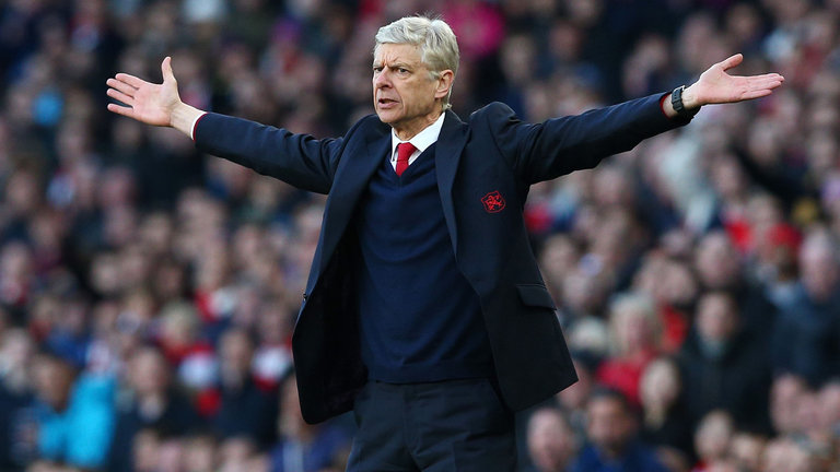 L'ex allenatore Wenger
