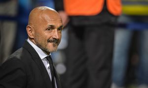 REGGIO NELL'EMILIA, ITALY - OCTOBER 26:  AS Roma coach Luciano Spalletti looks on during the Serie A match between US Sassuolo and AS Roma at Mapei Stadium - Citta' del Tricolore on October 26, 2016 in Reggio nell'Emilia, Italy.  (Photo by Luciano Rossi/AS Roma via Getty Images)