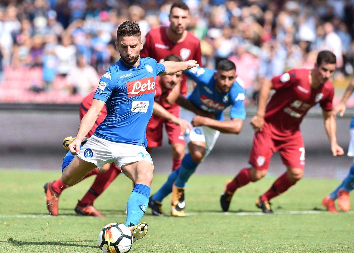 Cagliari Napoli Analisi Tattica
