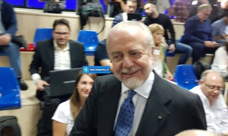 De Laurentiis all'ECA
