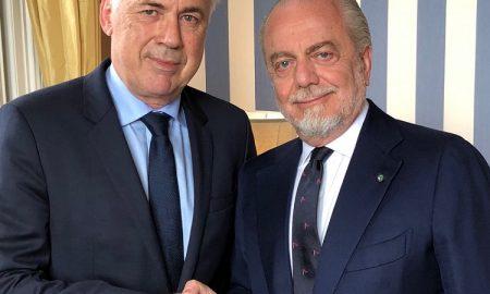 De Laurentiis Ancelotti Napoli