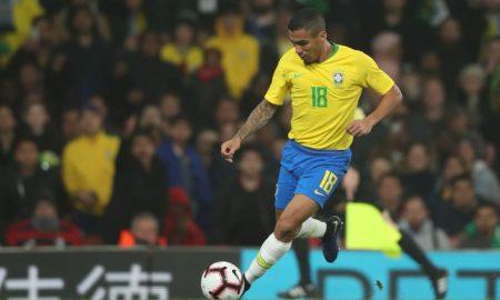 Allan con la maglia del Brasile