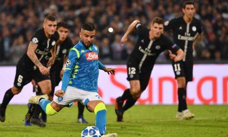 Insigne Napoli PSG