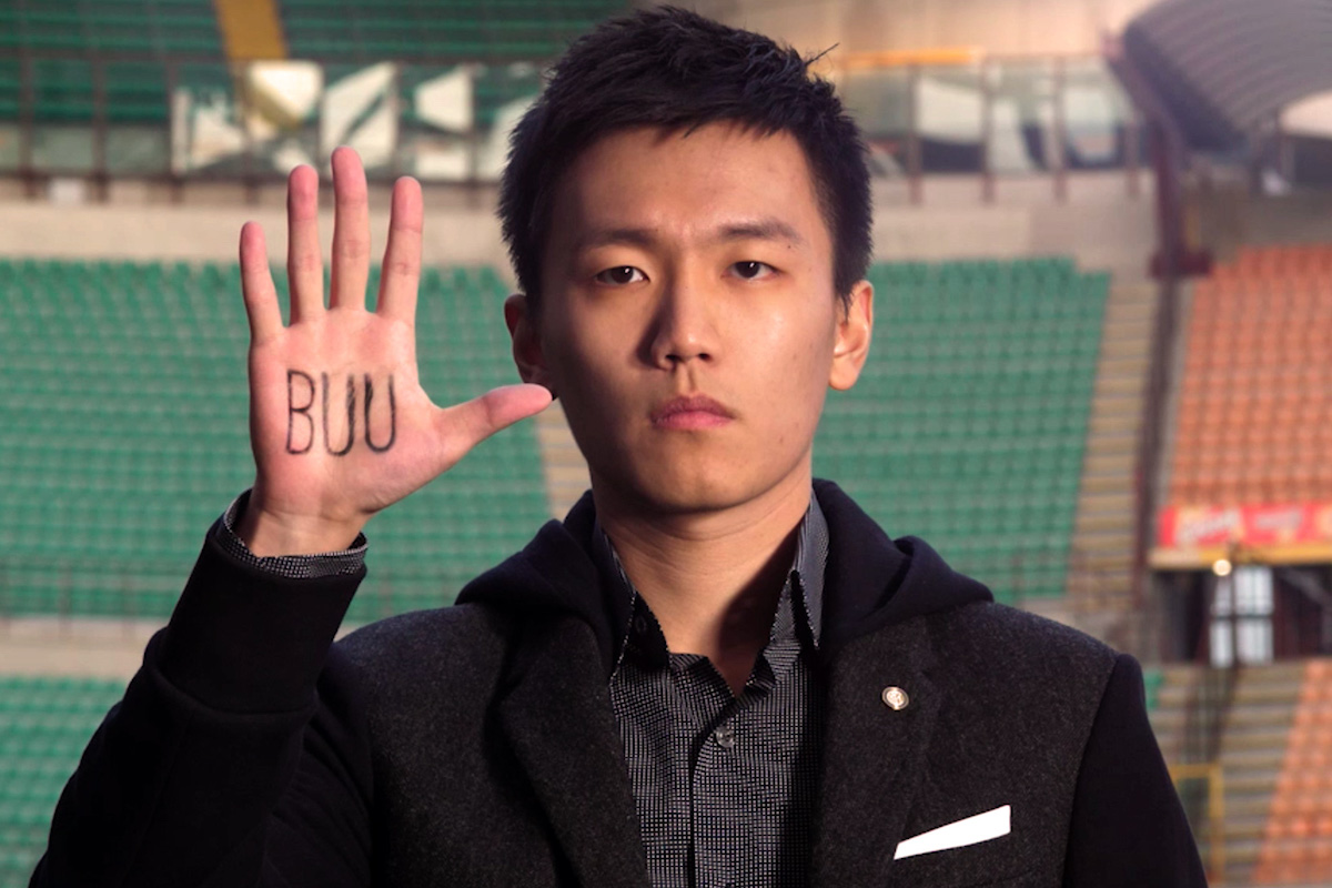 BUU Steven Zhang Inter No Razzismo
