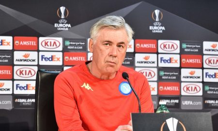 Ancelotti in conferenza stampa
