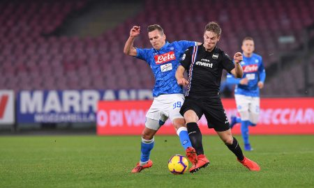 Napoli Sampdoria Analisi Tattica