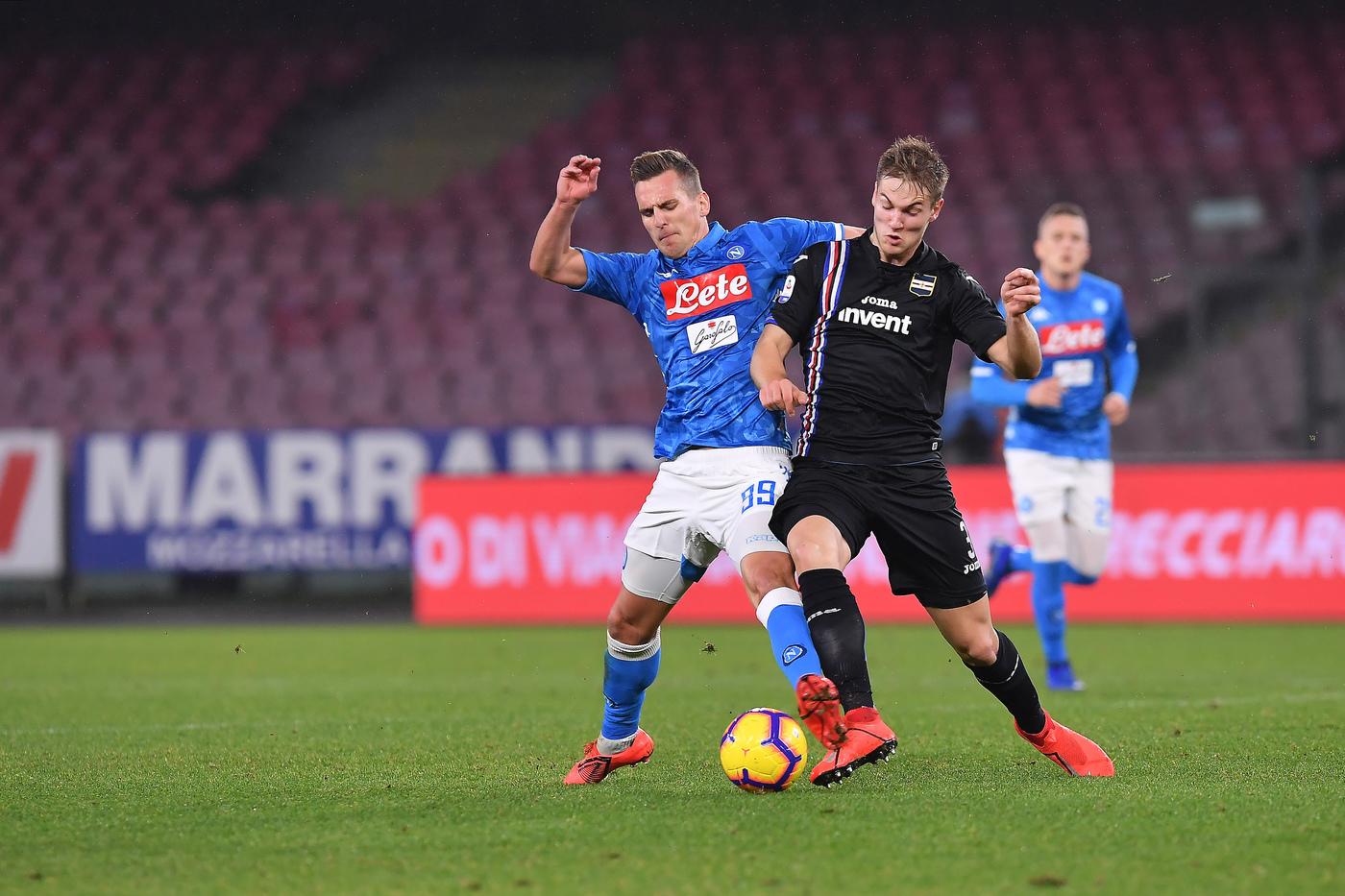 Napoli Sampdoria Analisi Tattica