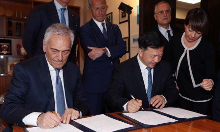 Accordo Italia Cina