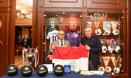 Salerno Ancelotti Premiazione