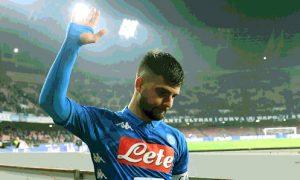 Insigne attaccante Napoli