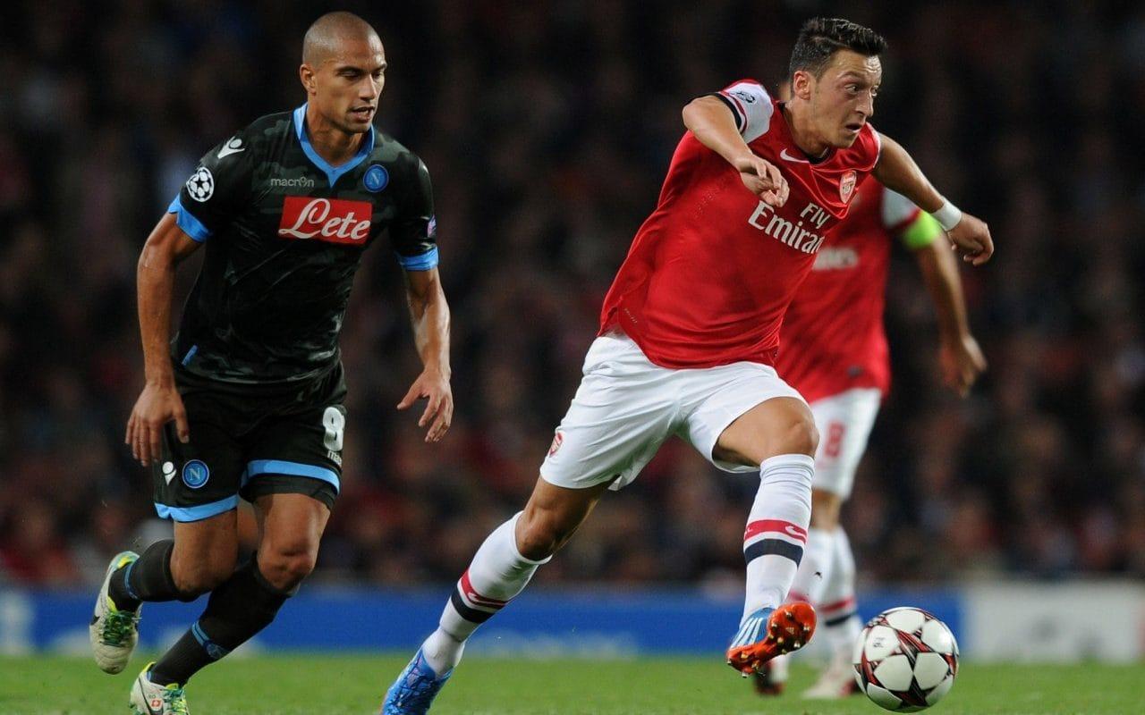 Precedenti Arsenal Napoli