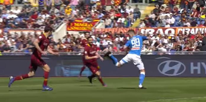 Milik Roma Napoli 1-4