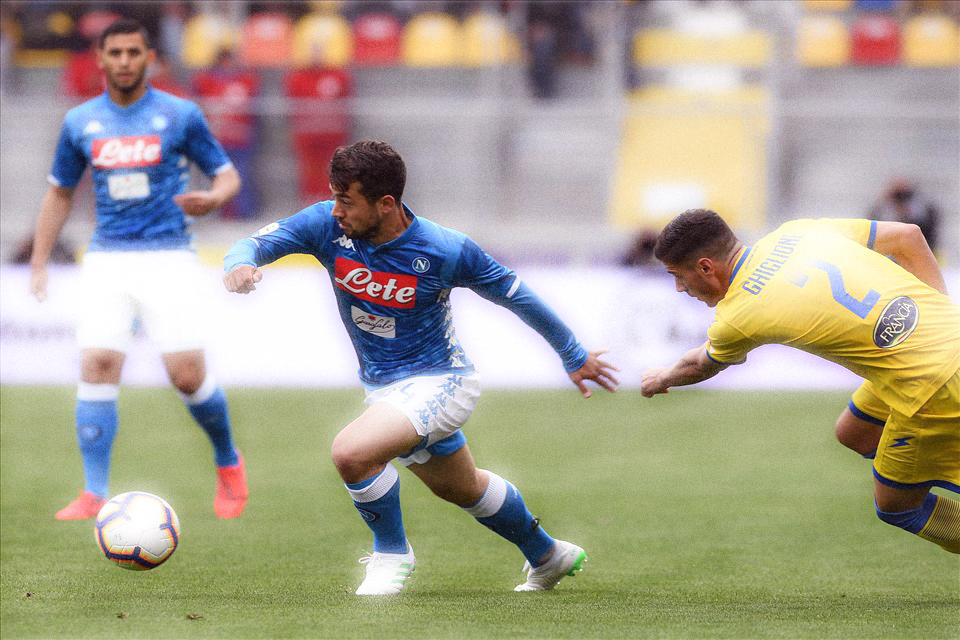 Younes Frosinone Napoli