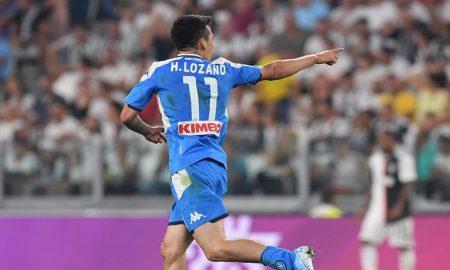 Lozano Juventus Napoli