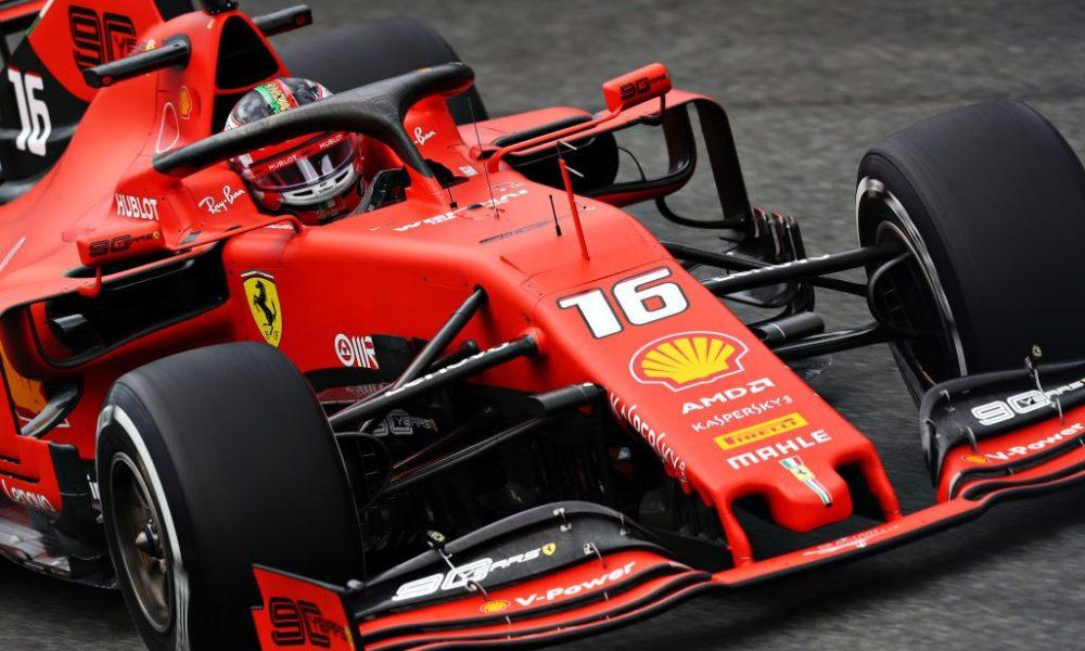 Formula 1 LeClerc Ferrari