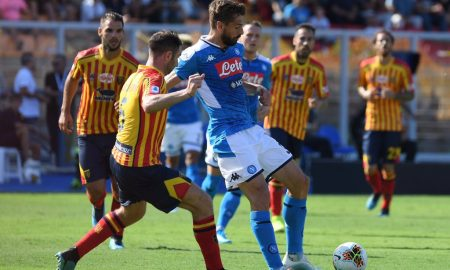 Lecce Napoli Analisi Partita Post
