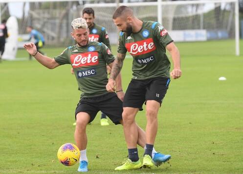 Napoli Roma Report Convocati
