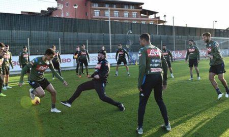 Allenamento Napoli Gattuso