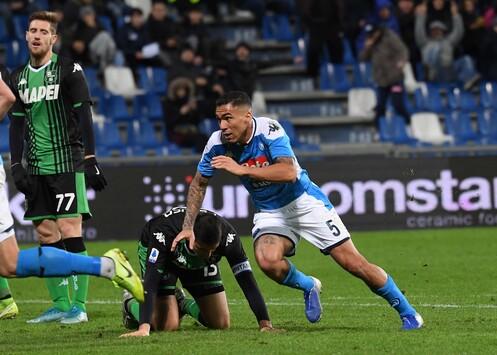 Sassuolo Napoli Allan