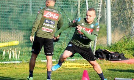 Lobotka Allan Allenamento Report Napoli