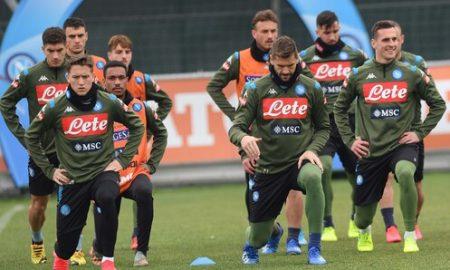 Napoli Report Allenamento