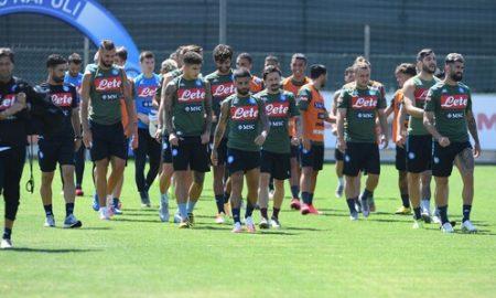 Allenamento Napoli Report