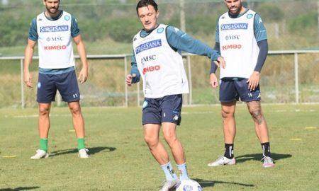 Napoli allenamento report 23 ottobre