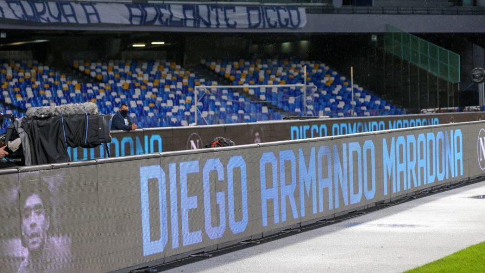 Maradona Stadio Napoli