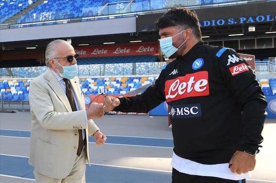 Gattuso De Laurentiis Napoli