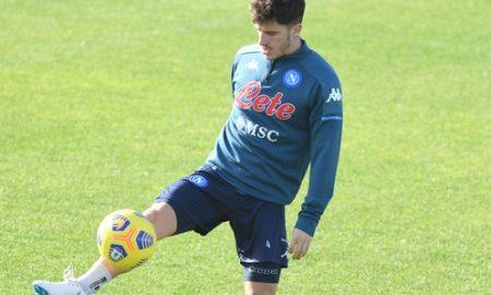 Napoli Demme report Allenamento