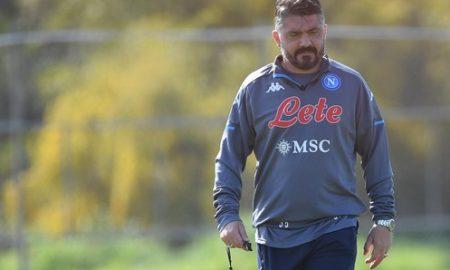 Gattuso Napoli Allenamento Report